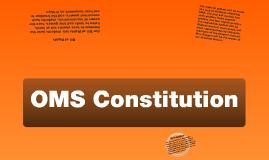 OMS Constitution