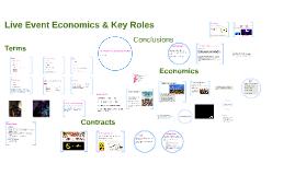 Live Industry Module Live Event Economics & Key Roles Wk 2