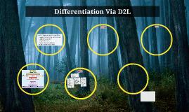 Differentiation Via D2L