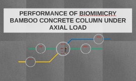 PERFORMANCE OF BIOMIMICRY BAMBOO CONCRETE COLUMN UNDER AXIAL