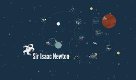 Copy of Sir Isaac Newton