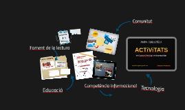 Copy of ACTIVITATS