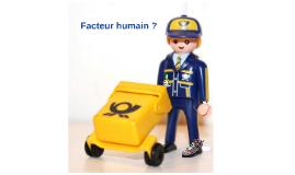 Human factor ?