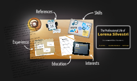 Copy of Desktop Prezumé de Lorena Silvestri