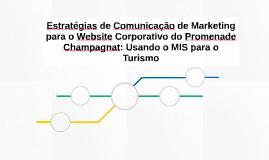 Estratégias de Comunicação de Marketing para o Website Corpo