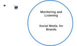 MONITORIING AND LISTENING