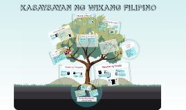 Copy of Kasaysayan ng Wikang Filipino