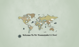 Mr. Wannamaker's Class