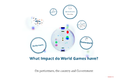 What Impact do World Games have?