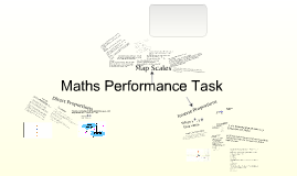 Maths Performance Task