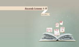 Rewards lesson 1 a-i