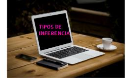 TIPOS DE INFERENCIAS