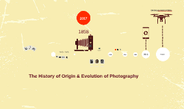 The History of Origin and Evolution of Photography