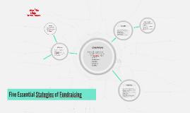 Five Essential Stategies of Fundraising