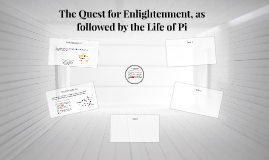 The Quest for Enlightenment, as followed by the Life of Pi
