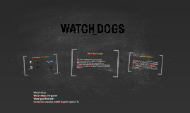 Consolses waarop Watch Dogs te spelen is
