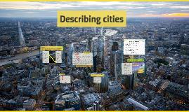 Describing cities