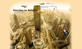 Function vs. Relation