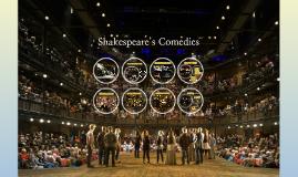 셰익스피어의 희극 Shakespearean comedies