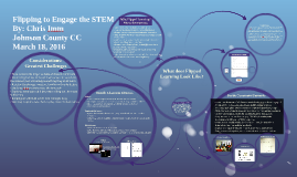 Flipping to Engage the STEM