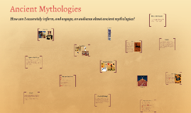 Ancient Mythologies