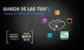 MANEJO DE LAS TICS