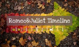 Romeo&Juliet Timeline