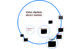 Video digitale: esempi