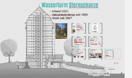 Wasserturm Schanzenpark