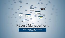 Copy of Resort Management