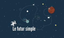 Le futur simple