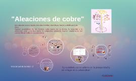 Copy of Aleaciones de cobre