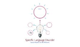 Specific Language Disorder
