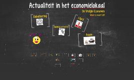 Actualiteit in het economielokaal