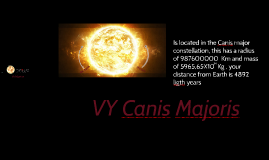 las estrellas mas grandes del universo