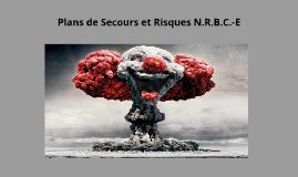 Plans de Secours et Risques N.R.B.C.-E