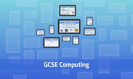 GCSE Computing