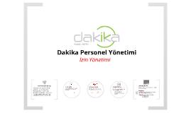 Dakika - İzin Yönetimi