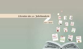LITERATUR DES JHD #DEUTSCH