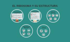EL RIBOSOMA Y SU ESTRUCTURA
