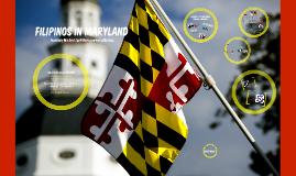 Filipinos in Maryland