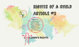 Children's Rights Article #2