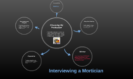 Interviewing a Mortician