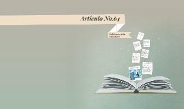 Copy of Articulo No.64