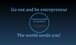 INOVA+ - Entrepreneurship for dummies
