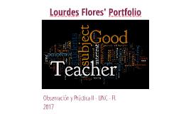 Lourdes Flores' Portfolio