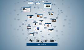 Posting online