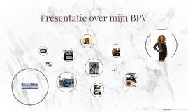 Presentatie over mijn BPV