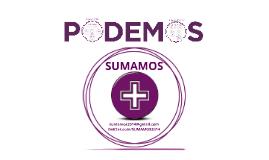 SUMAMOS: Propuesta organizativa para PODEMOS