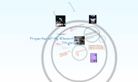 Copy of Properties of My Element:  Oxygen